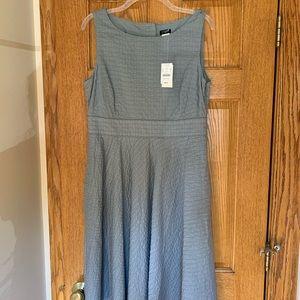 NWT J. Crew Factory Blue No Sleeve Dress